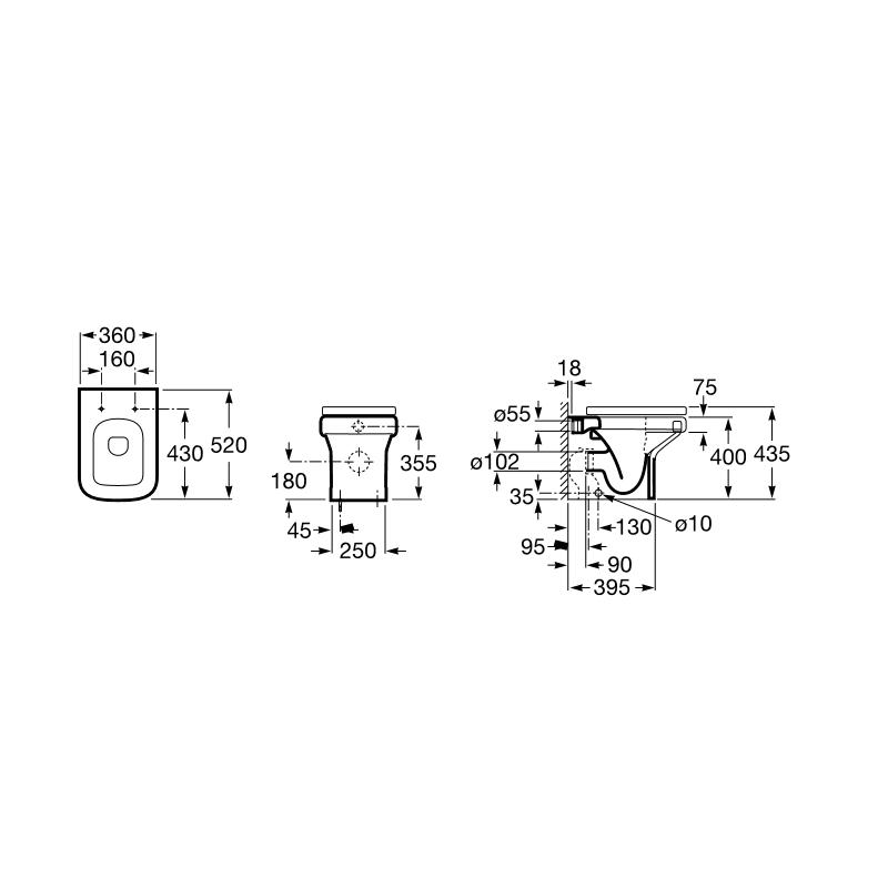 Oferta liquidaci n inodoro de tanque alto adosado a pared - Inodoro tanque alto ...