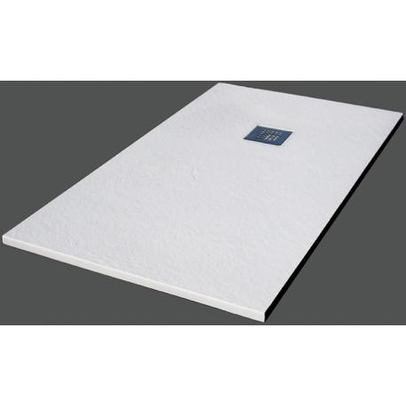 Plato ducha resina blanco for Instalar plato ducha resina